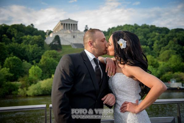 Hochzeitsfotograf Regensburg Walhala