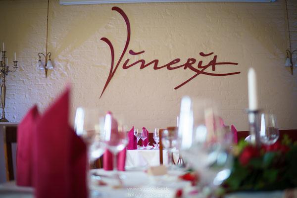Dekoration Hochzeit in Vineria Nürnberg