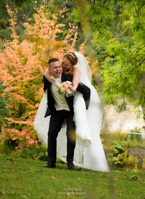 lustige Hochzeitsfotografie in Ingolstadt