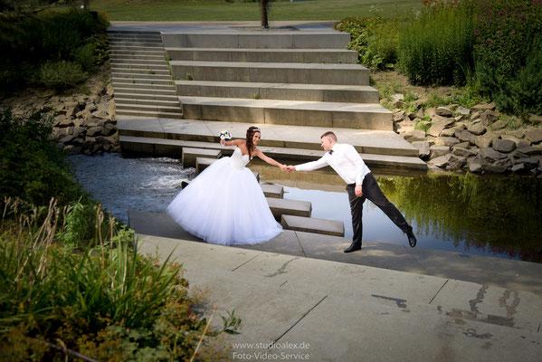 Coole & lustige Hochzeitsfotos in Deggendorf