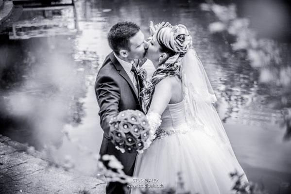 Hochzeitsfotos im  Weiden in der Oberpfalz