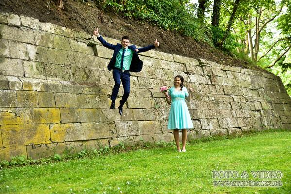 Ideen lustige Hochzeitsfotos Regensburg