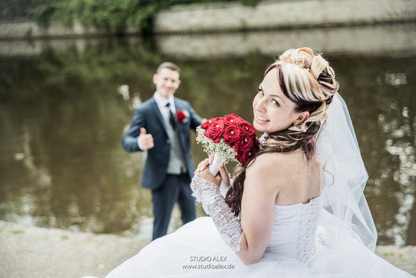 coole Hochzeitsfotografie aus Weiden in der Oberpfalz