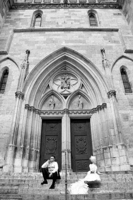 Hochzeitsfotograf Domplatz in Regensburg
