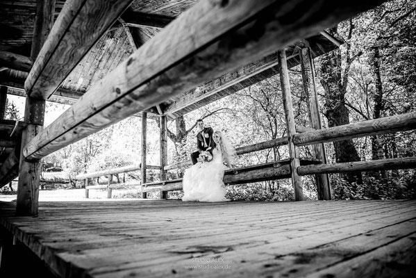 Außergewöhnliche und coole Hochzeitsfotos