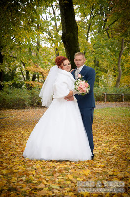 Hochzeitsfotos  in Stadtpark Amberg