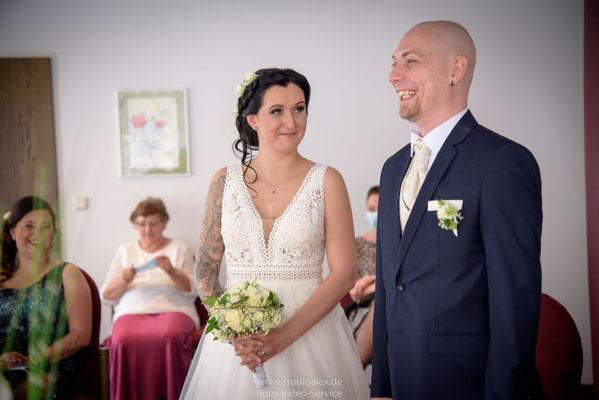 Emotionen der Hochzeit im Standesamt Nürnberg