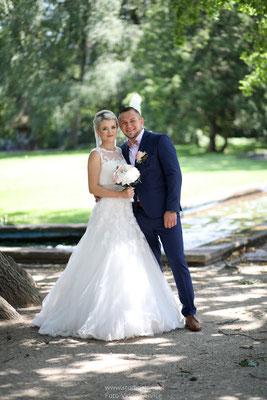 Hochzeitsfotos in Fürther Stadtpark
