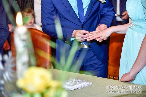 Hochzeitsfotos im Rathaussaal Regensburg
