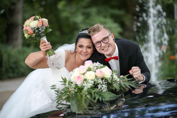 Hochzeitsbilder  in Stadtpark Fürth