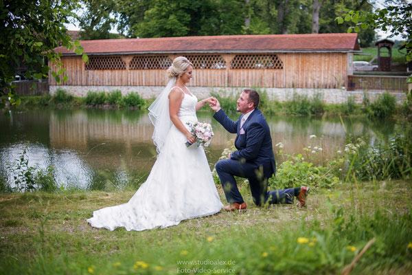 Ideen für Hochzeitsfotos in Schorndorf gut Hötzing bei Cham Oberpfalz Bayern