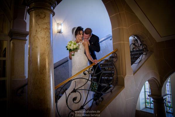 Ideen für Hochzeitsfotografie im Rathaus Fürth