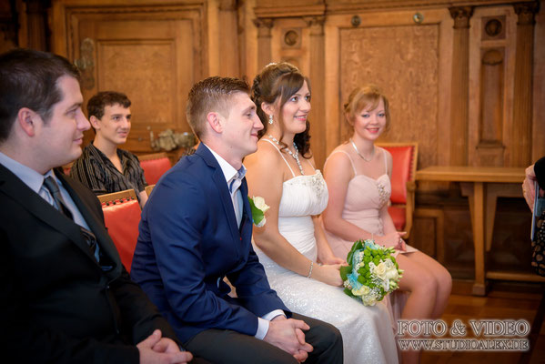 russische Hochzeit standesamtliche Trauung in Amberg