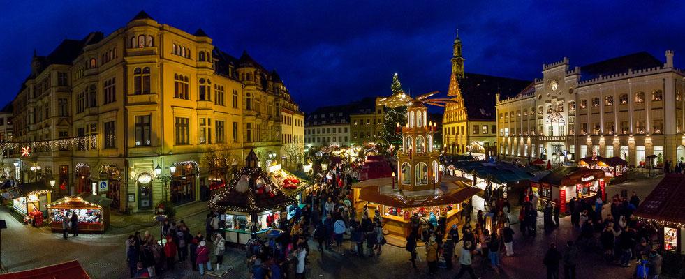 Zwickau - Weihnachtsmarkt 2013