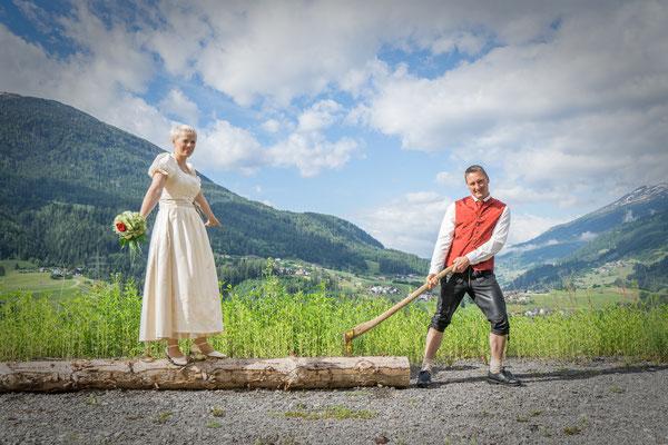 Hochzeit in Imst mit Assy & Jürgen