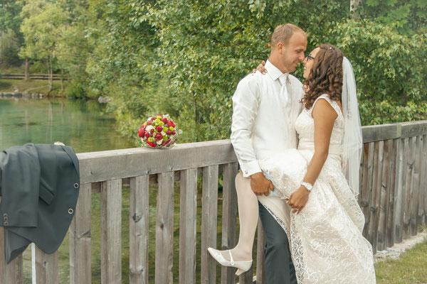 Hochzeit in Nasserreith