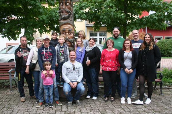 Bei einem Hexentag 2019 in der Narrenschau in Kenzingen