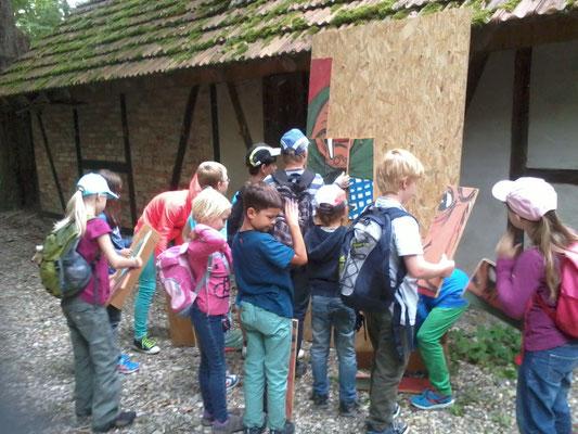 Schnitzeljagd durch den Rheinwald 2014
