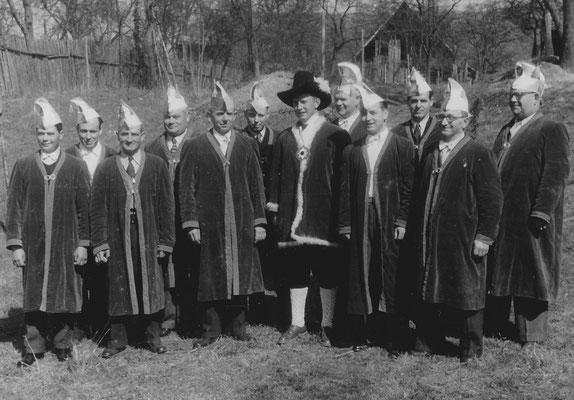 Die Gründungsmitglieder 1953