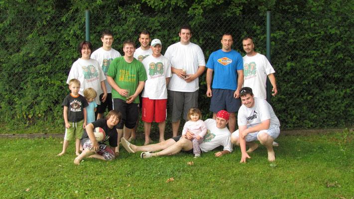 Die Mannschaft für das Beach-Volleyball 2011