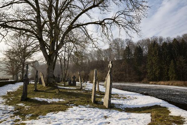 Le cimetière classé de Mortehan