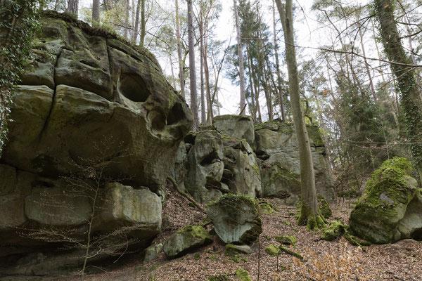 Ernzen, Le crâne, Ferschweiler plateau