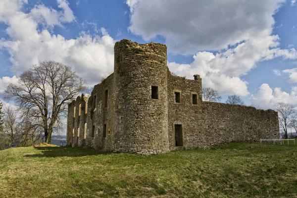 Les ruines du château de Montquintin