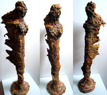 Skulptur in Mischtechnik (verkauft)