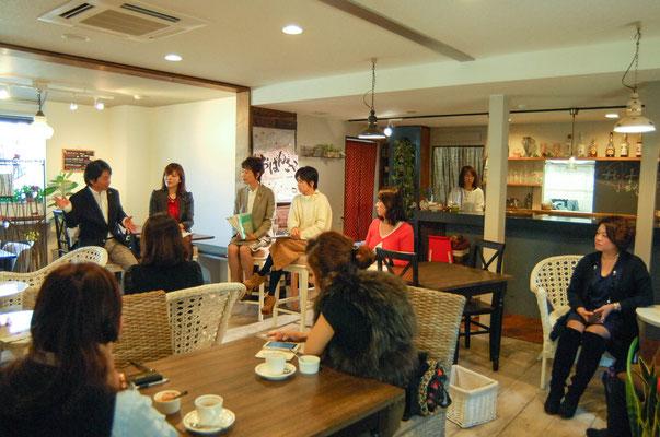 女性議員と語る妊活トークセッションin ヒメカフェ