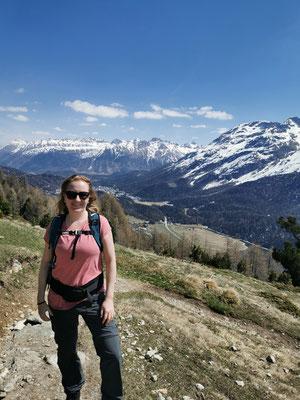 Wandern in den Bergen: da kann ich durchatmen und nachdenken