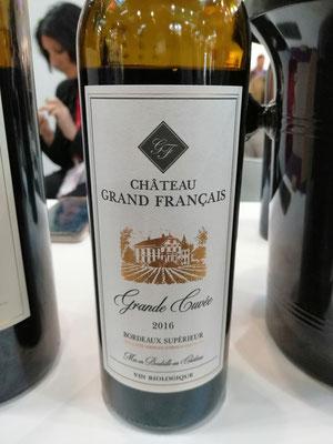 Château Grand Francais Bordeaux Organic Wine