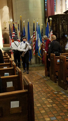 53rd Veterans' Day Service at the Cathedral Church of St. Paul, Detroit, MI