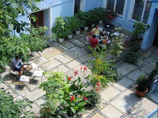 Sonnen-Terrasse im Hotel Bairischer Hof