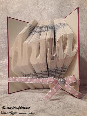 Für die Taufe der kleinen Anna wurde dieses Buch verschenkt.
