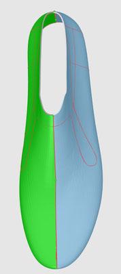 RG Technologies CAD 2D 3D Schuhe PEAKTOURe