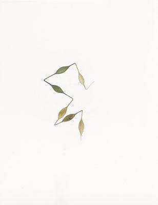 6 modules    2014 – Gouache und Bleistift auf Papier / gouache et crayon sur papier – 65 x 50 cm