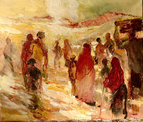 """Exodus"",2012, Acryl/Leinwand, 50x60"