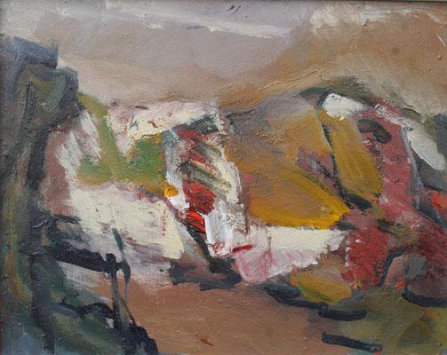 """Thüringische Landschaft"",2012,Acryl/Leinwand,40x50"