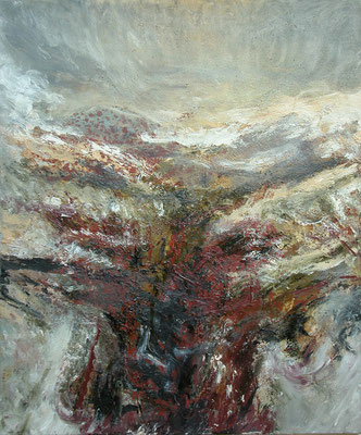 """Tingvellir""(Island),2001, Öl/Leinwand, 60x50"