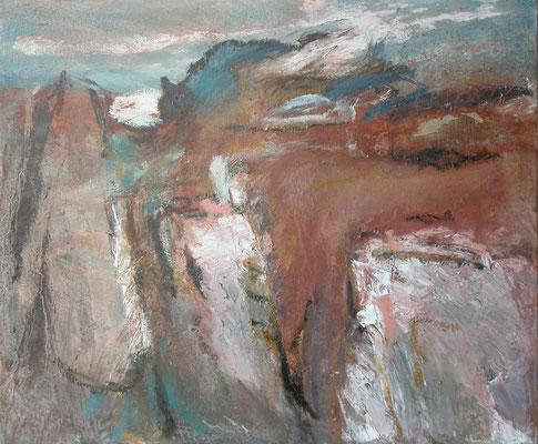 """Hammershus"",2002,50x60,Öl/Leinwand"
