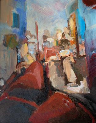 """Venezianisch"",2007, Acryl/Leinwand,50x40"