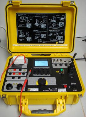 Installationstester Chauvin Arnoux 6160