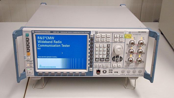 Rohde & Schwarz CMW 500 Wideband Radio Communication Tester