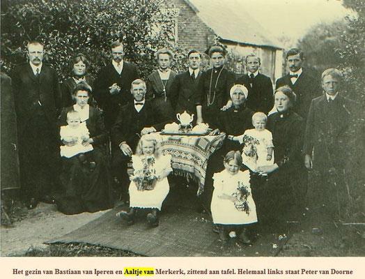 Bastiaan van Iperen (1859-1938) en Aaltje van Merkerk (1865-1943)