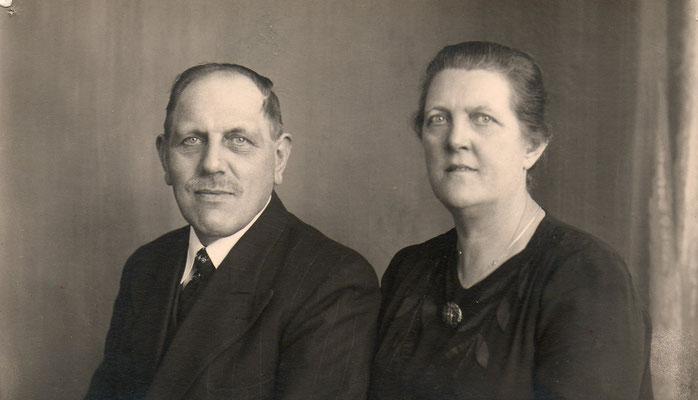 Cornelis Terlouw (1892-1964) en Johanna van Merkerk (1890-1972)