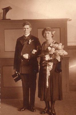 Aart van Merkerk (1895-1970) en Adriana Verwolf (1901-1983)