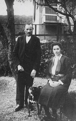 Hermanus van Meerkerk (1867-1932) en Sophia Cornelia Leer in 't Veld (1889-1946)