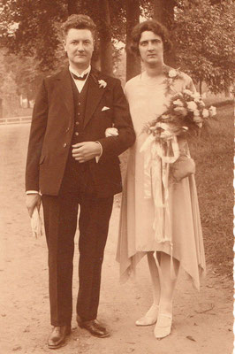 Hendrik Frederik Westerveld (1899-1943) en Maggeltje van Merkerk (1900-1983)