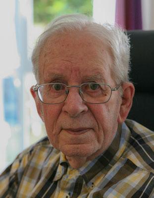 Arie van Meerkerk (1923-2017) omstreeks 2015. Foto: Arnold Anthony van Meerkerk.