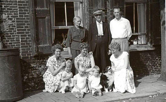 Johannes van Merkerk en Annigje Maat op 12 augustus 1960 40 jaar getrouwd, foto met dank aan Bert de Lange